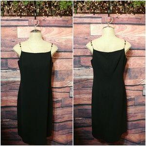 Rena Rowan little black dress size 10